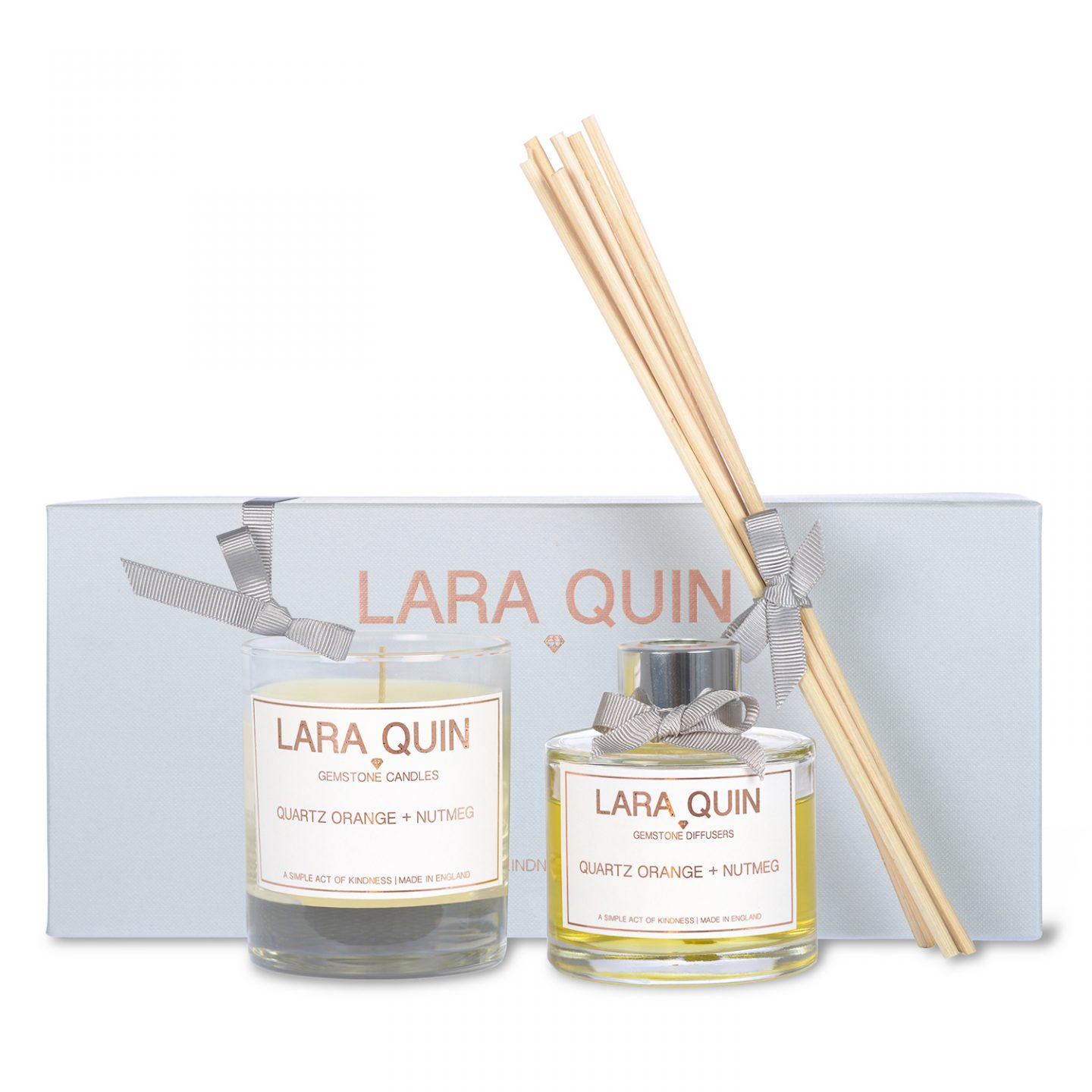 Christmas candle gift set Orange | Lara Quin