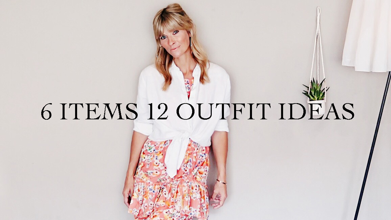 6 Items 12 Outfit Ideas