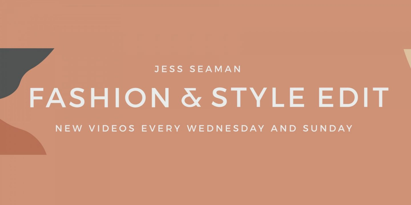 FASHION AND STYLE EDIT BANNER